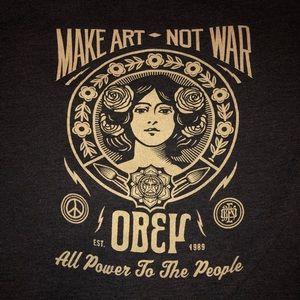 Make Art Not War Sweatshirt